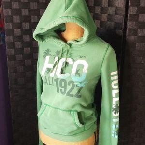 HOLLISTER* Green Hoodie